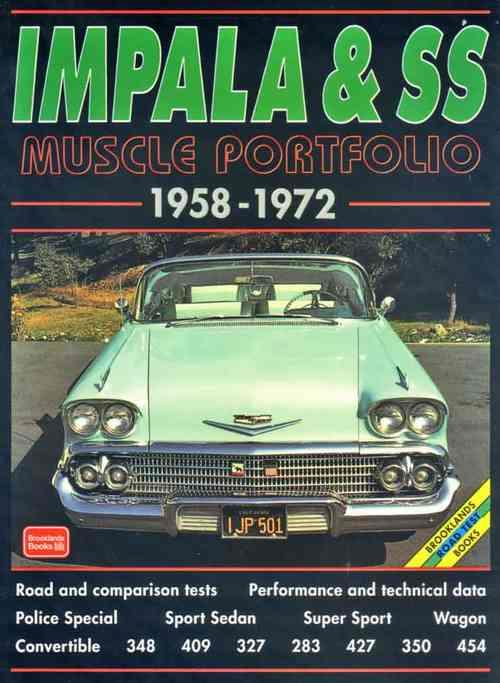 Impala & SS Muscle Portfolio 1958 - 1972 - Front Cover