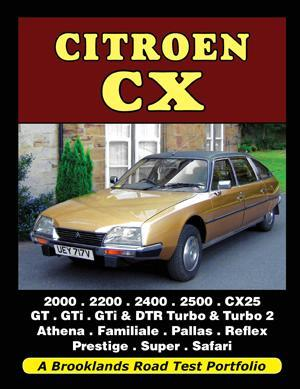 Citroen CX Road Test Portfolio - Front Cover