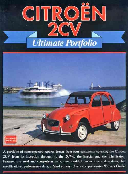 Citroen 2CV Ultimate Portfolio - Front Cover