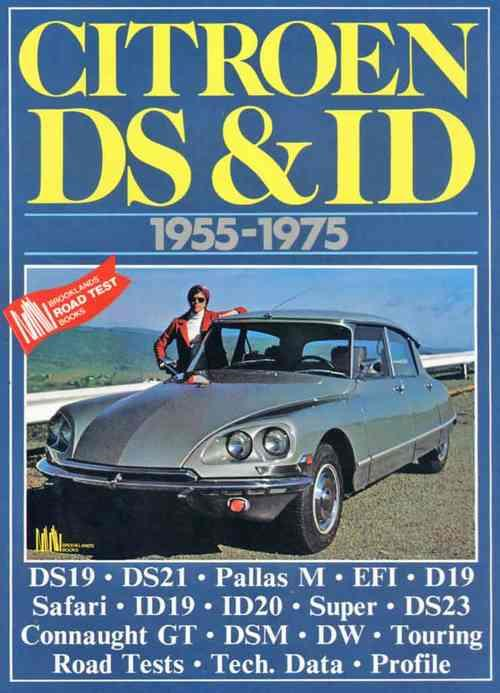 Citroen DS & ID 1955 - 1975 - Front Cover