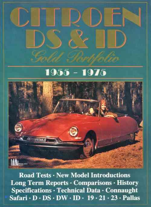 Citroen DS & ID Gold Portfolio 1955 - 1975 - Front Cover