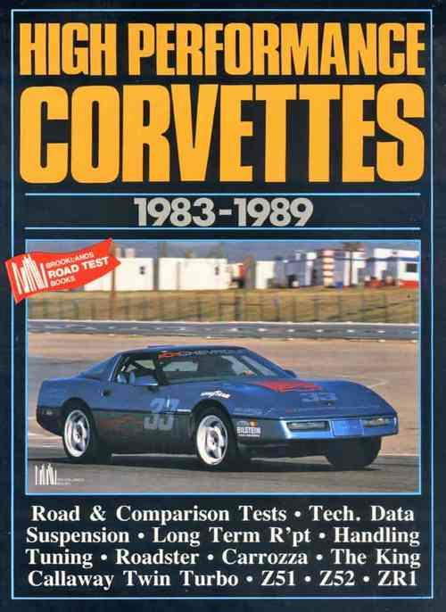 High Performance Corvettes 1983 - 1989 - Front Cover