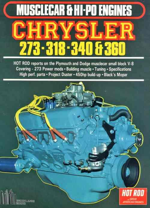 Musclecar & Hi Po Chrysler 273-318-340-360 - Front Cover