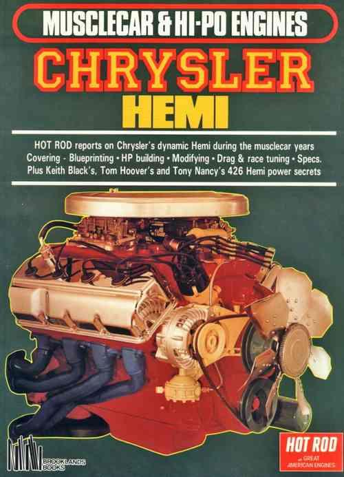 Musclecar & Hi-Po Engines Chrysler Hemi - Front Cover