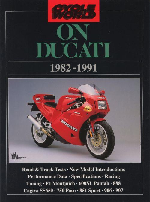 Cycle World on Ducati 1982 - 1991 - Front Cover