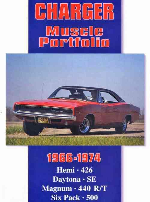 Dodge Charger Muscle Portfolio 1966 - 1974 - Front Cover