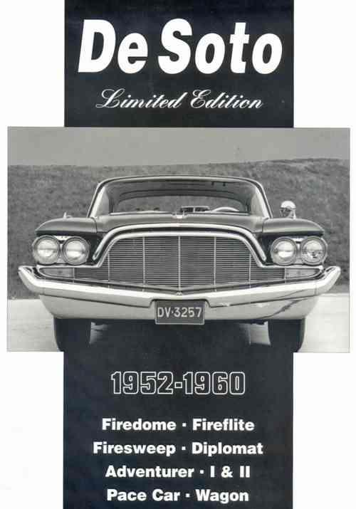 De Soto Limited Edition 1952 - 1960 - Front Cover
