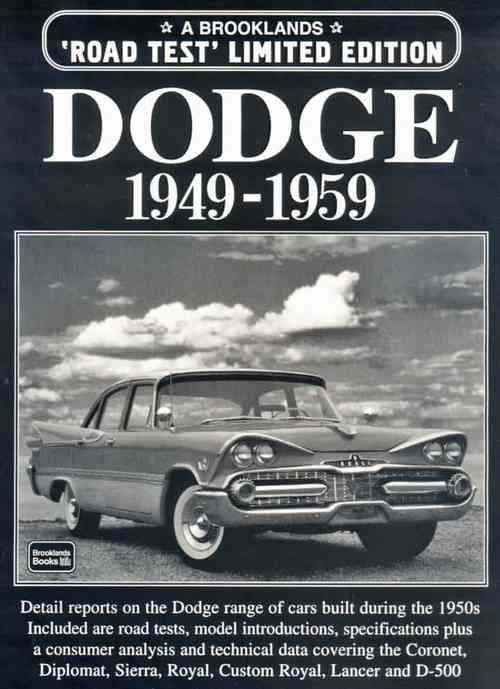 Dodge Limited Edition 1949 - 1959 - Front Cover