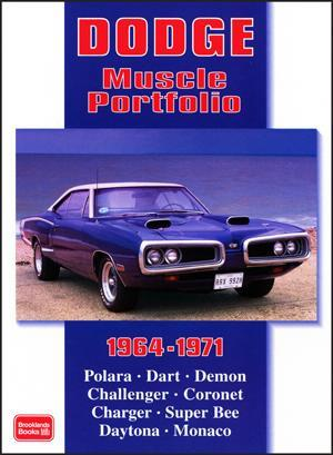 Dodge Muscle Portfolio 1964 - 1971 - Front Cover