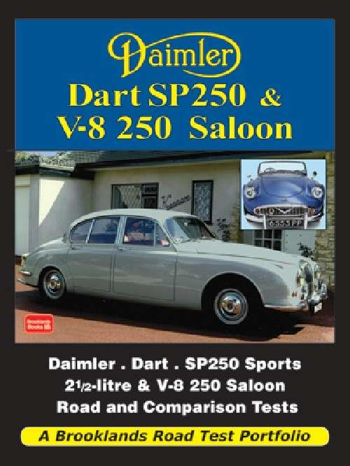 Daimler Dart SP250 & V-8 250 Saloon Road Test Portfolio - Front Cover