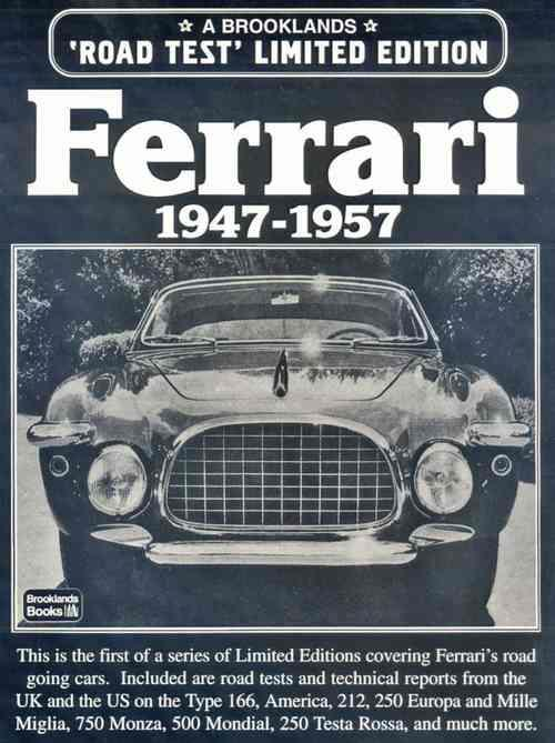 Ferrari Limited Edition 1947 - 1957 - Front Cover