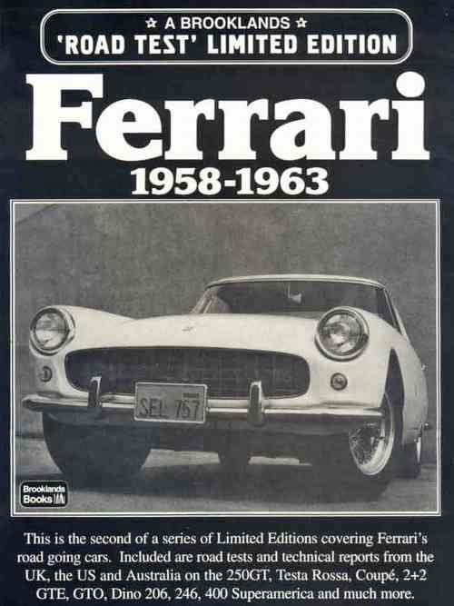 Ferrari Limited Edition 1958 - 1963 - Front Cover