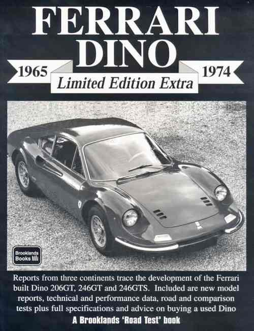 Ferrari Dino Limited Edition Extra 1965 - 1974 - Front Cover