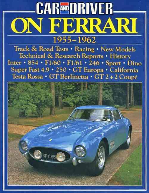 Car and Driver on Ferrari 1955 - 1962 - Front Cover