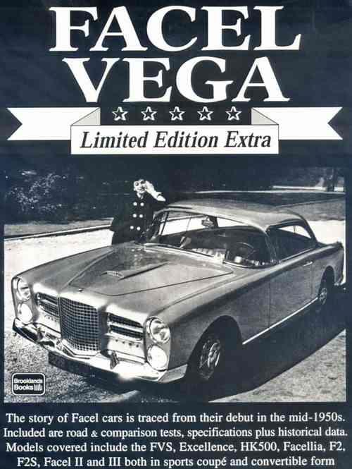 Facel Vega Limited Edition Extra - Front Cover