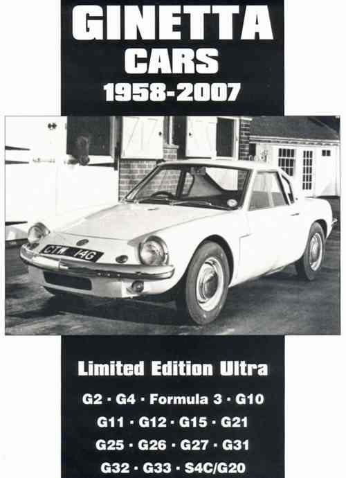 Ginetta Cars Limited Edition Ultra 1958 - 2007 - Front Cover