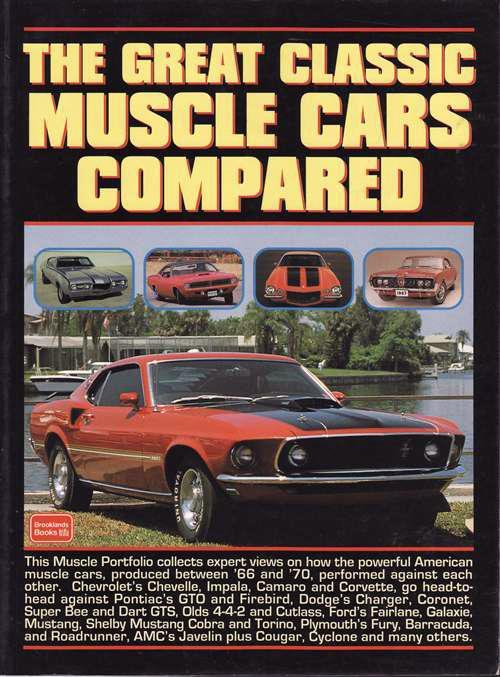 The Great Muscle Cars Compared - Front Cover