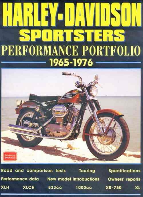 Harley-Davidson Sportsters Performance Portfolio 1965 - 1976 - Front Cover