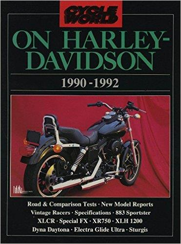 Cycle World on Harley-Davidson - Front Cover
