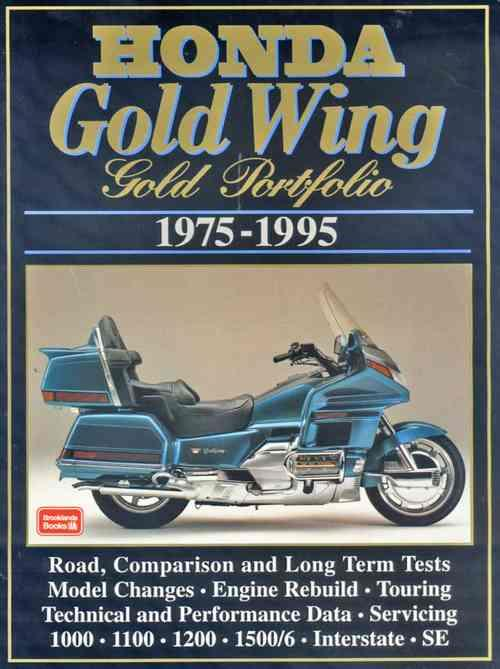 Honda Gold Wing Gold Portfolio 1975 - 1995 - Front Cover