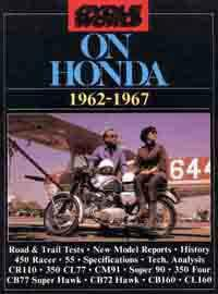 Cycle World on Honda 1962 - 1967 - Front Cover