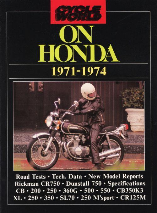 Cycle World on Honda 1971 - 1974 - Front Cover