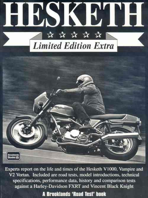 Hesketh Limited Edition Extra 1980 - 1991 - Front Cover