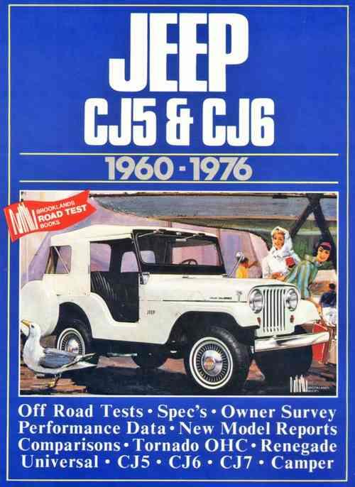 Jeep CJ5 & CJ6 1960 - 1976 - Front Cover