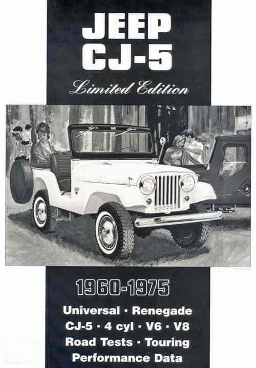 Jeep CJ5 Limited Edition 1960 - 1975 - Front Cover