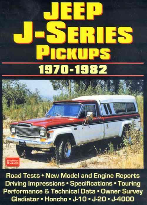 Jeep J Series Pickups 1970 - 1982 - Front Cover
