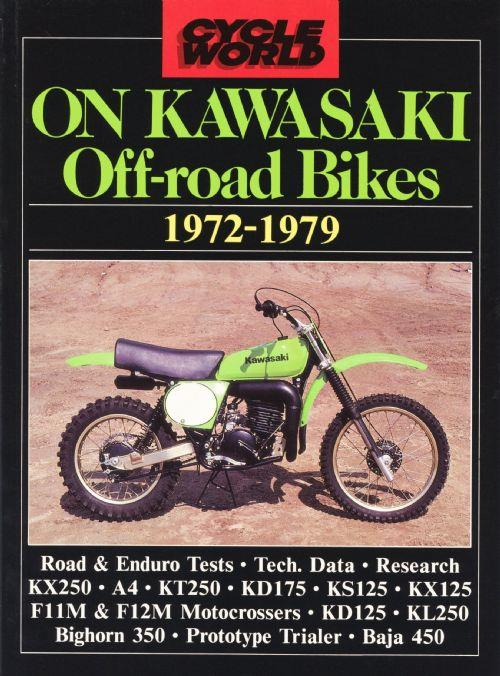 Cycle World on Kawasaki Off-Road Bikes 1972 - 1979 - Front Cover