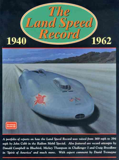 The Land Speed Record 1940 - 1962 - Front Cover