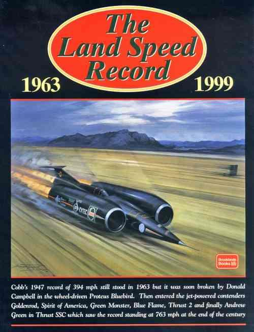 The Land Speed Record 1963 - 1999 - Front Cover