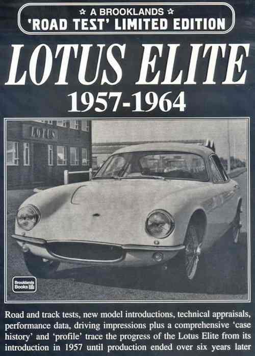 Lotus Elite Limited Edition 1957 - 1964 - Front Cover