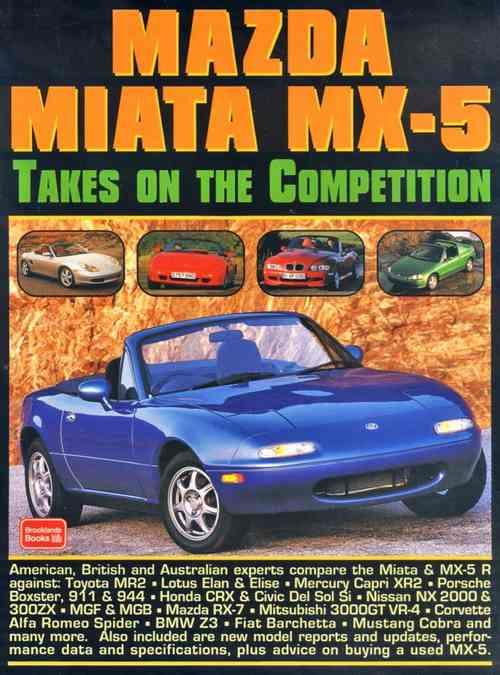 Mazda Miata MX-5 Takes on the Competition - Front Cover