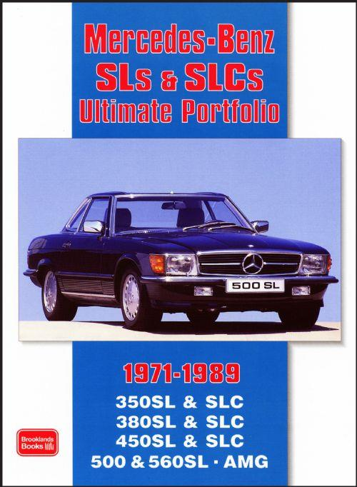 Mercedes Benz SLs & SLCs Ultimate Portfolio 1971 - 1989 - Front Cover