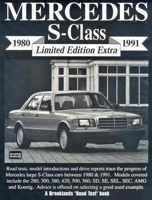 Mercedes S-Class Limited Edition Extra 1980 - 1991 - Front Cover