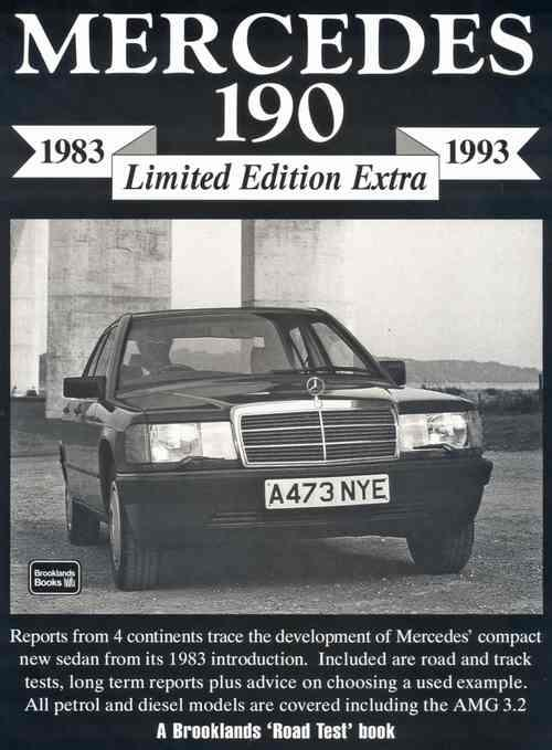 Mercedes 190 Limited Edition Extra 1983 - 1993 - Front Cover