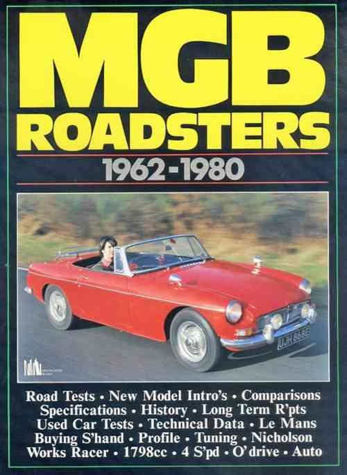 MG MGB Roadsters 1962 - 1980