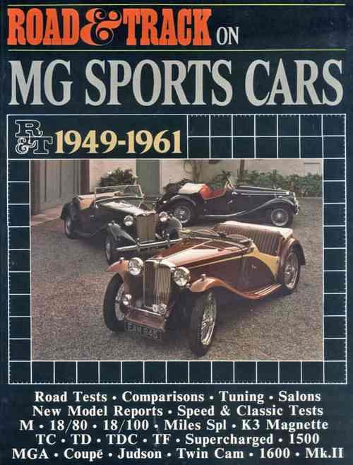 Road & Track on MG Sports Cars 1949-1961