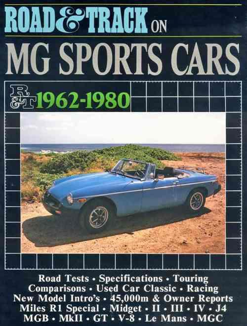 Road & Track on MG Sports Cars 1962 - 1980