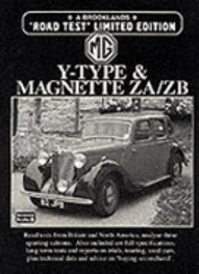 MG Y-Type & Magnette ZA / ZB Limited Edition