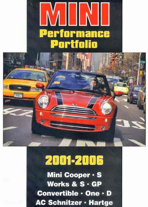 Mini Performance Portfolio 2001 - 2006 - Front Cover