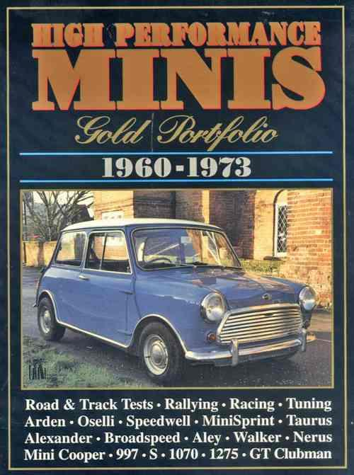 High Performance Minis Gold Portfolio 1960 - 1973 - Front Cover