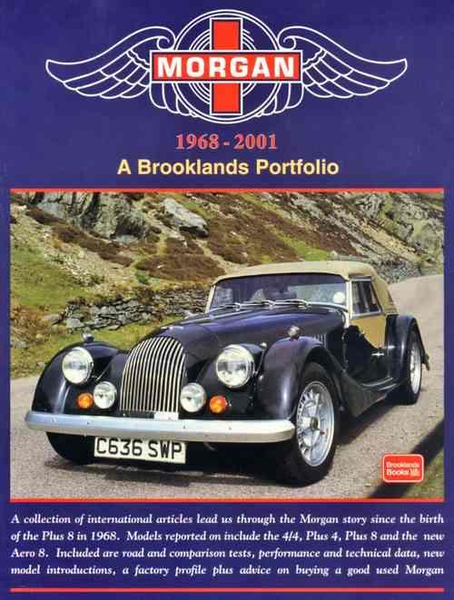 Morgan 1968 - 2001 - A Brooklands Portfolio - Front Cover