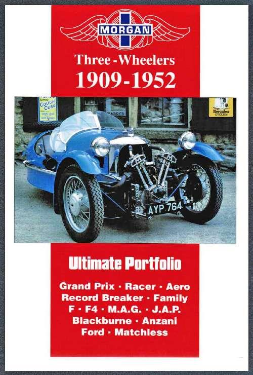 Morgan Three Wheelers 1909 - 1952 Ultimate Portfolio - Front Cover