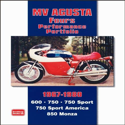 MV Agusta Fours Performance Portfolio 1967 - 1980 - Front Cover