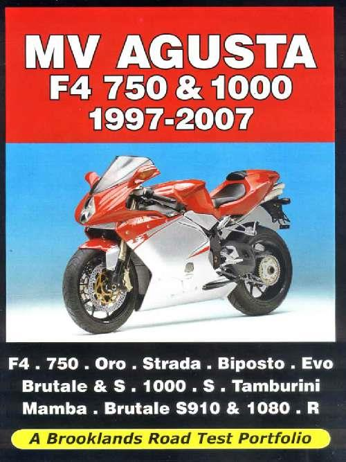 MV Agusta F4 750 & 1000 1997-2007 Road Test Portfolio - Front Cover
