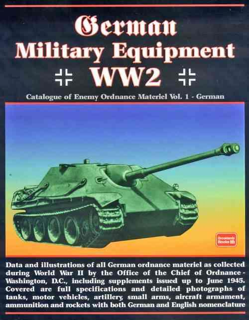 German Military Equipment World War 2 - Front Cover