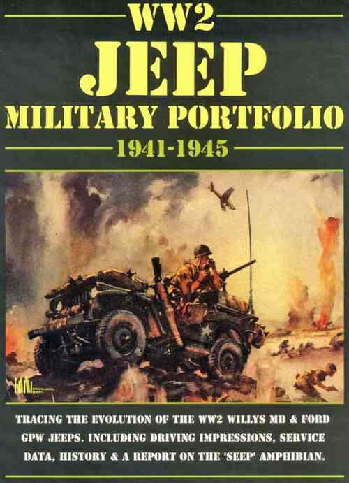 World War 2 Jeep Military Portfolio 1941 - 1945 - Front Cover